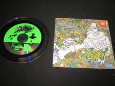 Jet Set Radio (Sega Dreamcast) - Japanese J-NTSC Game & Manual Excellent Cond!