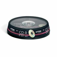 TDK 700MB Storage Capacity Blank CDs, DVDs & Blu-ray Discs