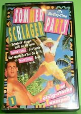Sommer Schlager Party (MC 1) - Der fetzig-starke Tanzspaß (Musikkassette   MC)