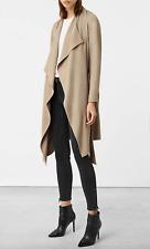 ALL SAINTS IZA beige trench coat mac uk 4 oversize fit uk 8 10 rrp.£228