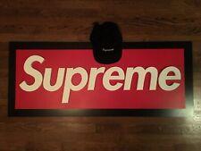 Nwt Supreme Box Logo 5 Panel Wool Hat Sign Display Skateboard Skateboarding Sb