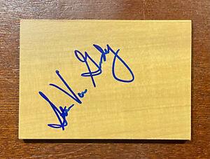 STAN VAN GUNDY Signed Floorboard New Orleans PELICANS Floor Board Piece Pistons