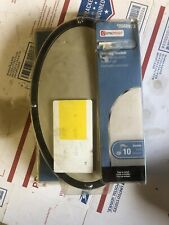Utilitech Universal Doorbell Wired or Wireless Almond Oval 0568973
