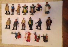 Job Lot Antique die cast figures Victorian ferme soldat figurines