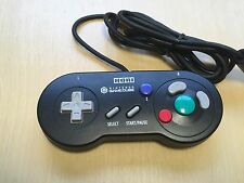 Hori Gamecube Controller Black Made in Japan Official Nintendo NGC GC F/S