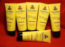 The Naked Bee 6-6.7 oz tubes  Moisturizing Hand and Body Lotion Nag Champa