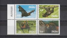 TIMBRE STAMP 4  PALAU Y&T#154-57 CHAUVE SOURIS BAT NEUF**/MNH-MINT 1987 ~A66