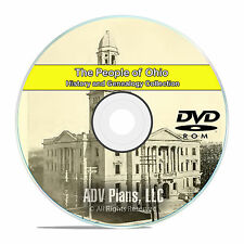 Ohio OH, People Civil War Stories History & Genealogy 325 Rare Books DVD CD B14