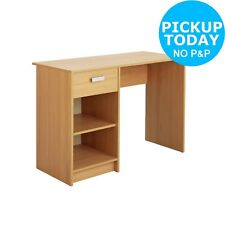 HOME Chadwick 1 Drawer Desk - Oak Effect. From the Argos Shop on ebay