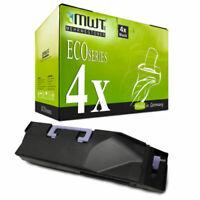 4x MWT Eco Cartuccia Nero Sostituita Kyocera TK-895K TK895K TK 895 TK895 TK-895