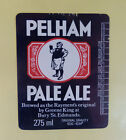 VINTAGE BRITISH BEER LABEL - GREENE KING BREWERY, PELHAM PALE ALE