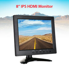 "8"" 1024x768 Small HDMI Monitor With Remote Control With VGA/AV/BNC/USB for CCTV"