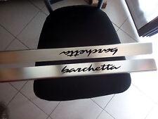 Battitacco in acciaio inox logo barchetta per FIAT BARCHETTA