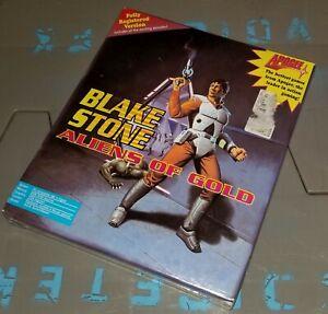 NIB Blake Stone Aliens of Gold - BIG BOX - IBM PC - SEALED! Full version Apogee