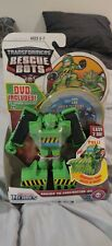 Transfomers Rescue Bot Boulder Construction Bot with DVD