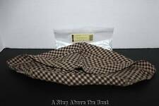 Longaberger Large Flare drop in Liner in Khaki Check #23770164 - New
