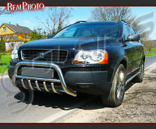 VOLVO XC90 2002-2007 SET OF BULL BAR + SIDE STEPS + GRATIS!! STAINLESS STEEL