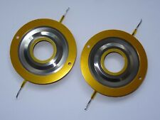 More details for 2 x replacement diaphragms for jbl 2402 2404 2405 jbl 75 76 77 aftermarket 8 ohm