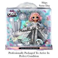 LOL Surprise OMG CRYSTAL STAR 2019 Collector Edition Exclusive Fashion Doll NEW