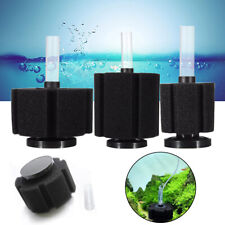 AQUARIUM FISH TANK BIO FOAM SPONGE FILTER DISCUS BREEDING FRY FILTRATION 3 SIZE