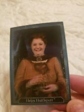 Harry Potter Hologram Chocolate Frog Trading Card; Helga Hufflepuff