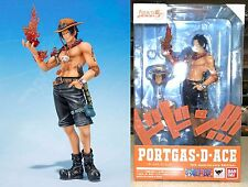 ONE PIECE Figuarts ZERO Portgas D. Ace Figure 5th Anniversary Ed Bandai Licensed