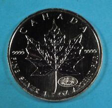 2000 Canadian $5.00 Maple Leaf 1 OZ .9999  PURE SILVER - UNC
