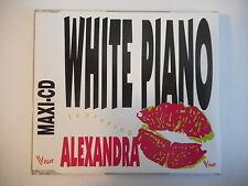 "WHITE PIANO feat. ALEXANDRA : HEY TOI - AIME MOI (12"") [ CD MAXI PORT GRATUIT ]"