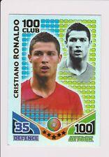 Match Attax Copa del Mundo 2010 * Raro * Cristiano Ronaldo cien Club 100.LOT.2 Perfecto