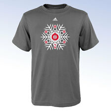 ADIDAS Youth NBA Portland Trail Blazers Shooter Snowflake Logo Tee T-Shirt Large
