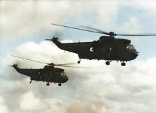 2 AIRCRAFT PHOTOS  Westland Seakings RN (Identities Unknown)I