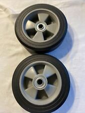 """8"""" Solid Rubber Wheels 2 pk Lar Pro"""