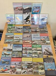 Rare collection of 28 x AVION Dvds historical Airline airplane aviation airports