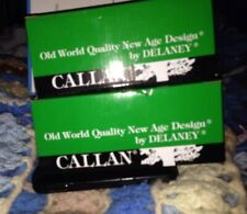 Callan Delaney Passage Lock Antique Brass Fairfield Lot Of Two New