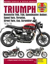 Haynes Triumph Bonneville T100, T120, Speedmaster, Bobber, Speed Twin, Thruxt...