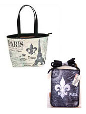 Paris Combo: Travel Tote and Smaller Shoulder Bag Coyne's  MV1088