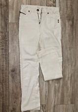 pantalon blanc coton lin femme MARLBORO CLASSICS T W26 (36 fr) EXCELLENT ÉTAT
