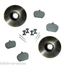 Triumph Stag brake disc and pad set (Includes pad fitting kit) (216079) (GBP242)
