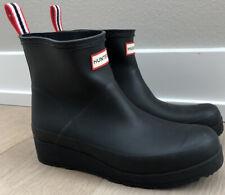 Womens Hunter Rain Boot Black Size 8 New