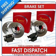 Bmw Mini One Cooper S Front Rear Brake Discs Pads +Wi/S
