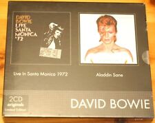 Mega Rare David Bowie 2 CD Boxset Santa Monica Aladdin Sane Sealed Ltd Edition