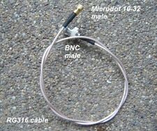 BNC to Microdot connector cable assembly , RG316,60cm, B30MD30-316-600