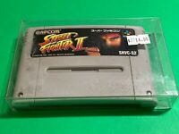 🔥💯WORKING SUPER FAMICOM NINTENDO SNES GAME CARTRIDGE / CAPCOM STREET FIGHTER 2