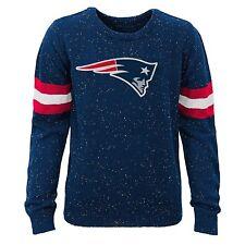 NFL Youth Boys Patriots Fleck Knit Crew Sweater Size XL