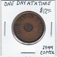 Token - Recovery - One Day at a Time - 29 MM Copper