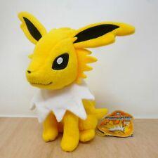 "Official Pokemon Takara Tomy 2012 Sitting Jolteon Plush Soft Toy Japan Import 8"""