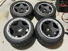 HPI Mounted Tarmac Buster Front & Rear Tire M Compound