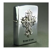 Zippo Tribal Cross EMB SI Lighter Made in USA /GENUINE and ORIGINAL Packing