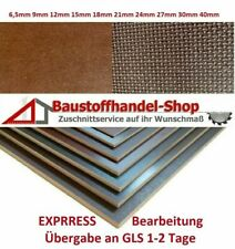 EXPRESSBEARBEITUNG Siebdruckplatte Anhängerplatte Siebdruck Sperrholz Multiplex