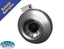Radialer Rohrlüfter • Rohrventilator • Lüfter • Turbine  VENT200 - mit 925 m³/h